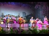 Северокорейские дети играют народную музыку.