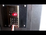 Установка общего кода на домофон Vizit (взлом домофона)