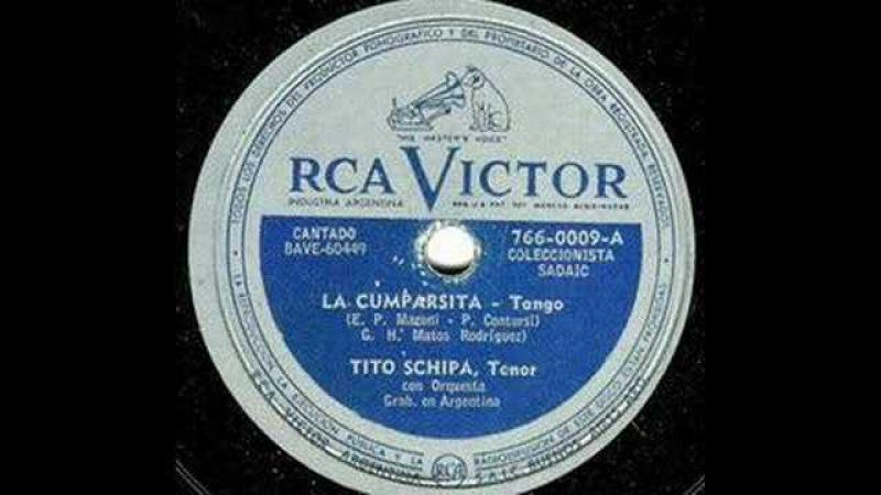 Tito Schipa La Cumparsita 1930