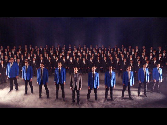 Nearer, My God, to Thee | BYU Vocal Point ft. BYU Men's Chorus