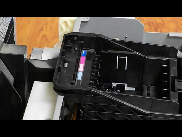 Как снять печатающую головку Epson R290, T50, P50, TX650, L800, R270 и прочих