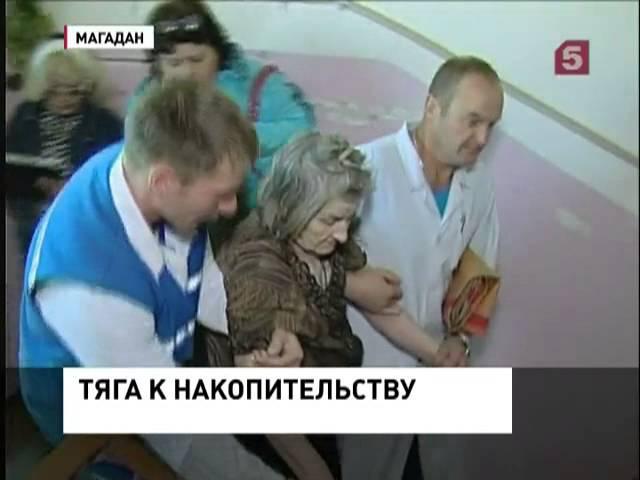 Пенсионерка превратила свою квартиру в склад (05.09.2013)