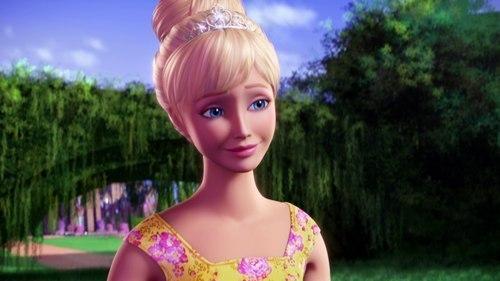 Барби красивее в мультике барби
