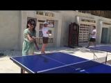 Чемпионка по теннису?????