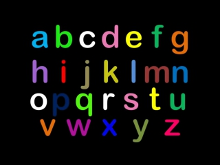 Учим английский алфавит. Английский язык для детей.