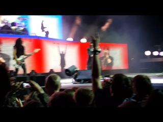 Начало концерта группы Scorpions - это было незабываемое шоу!