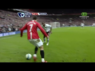 Cristiano Ronaldo ~ Skills in HD vs Arsenal