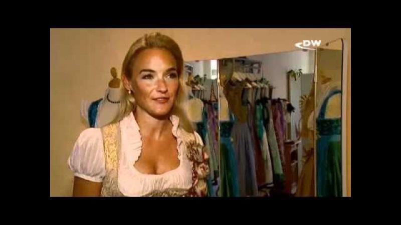 В Германии входит в моду традиционный наряд дирндль