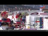 Биатлон  Кубок мира 2014-2015 2 этап  Эстафета  Женщины  Трансляция от 13 12 14 из Австрии