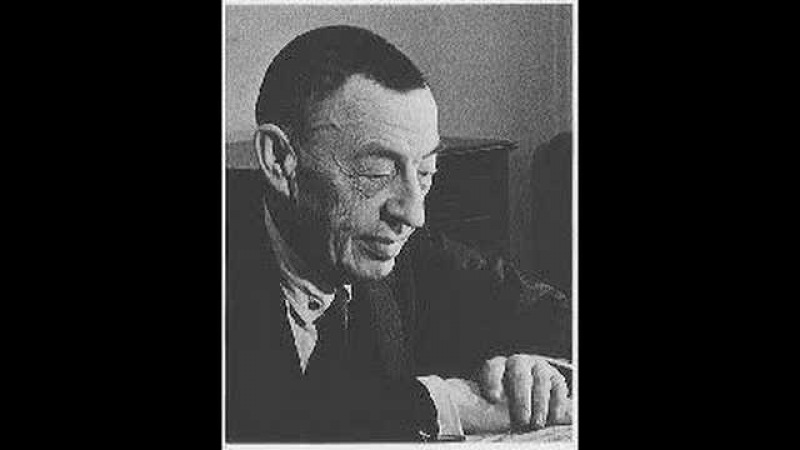 Rachmaninoff plays Scriabin Prelude Op. 11 No. 8