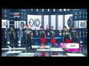 EXO 엑소 Front Runner Stage '으르렁 Growl ' KBS MUSIC BANK 2013 09 06