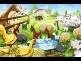 Домашние животные!!!!Игрушки- Собачка, свинка, коровка.....