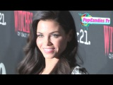 Jenna Dewan Tatum fashion sense at Witches of East End Party at Tipsy Crow 2014 Comic Con SD