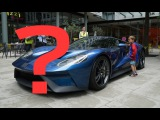 The supercar in front is a... ?