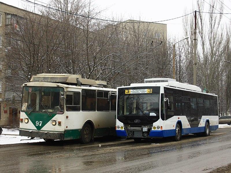 Вчера в Таганроге из-за долгов на несколько часов встал весь городской электротранспорт