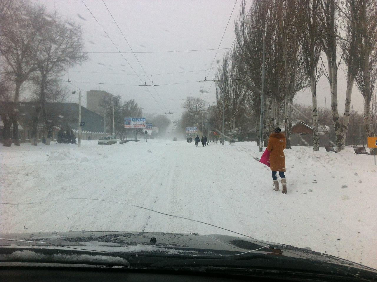 ВНИМАНИЕ! Сегодня в Таганроге и Ростове ожидается сильный снегопад
