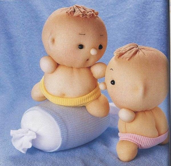 Куклы из носок своими руками мастер класс видео