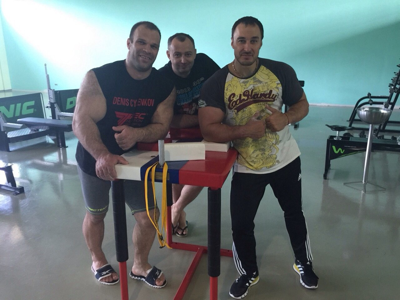 Denis Cyplenkov, Kote Razmadze, Alexey Voevoda │ Photo Source: Denis Tsyplenkov