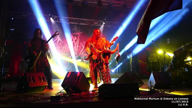 Nokturnal Mortum Мировоззрение Live 11.07.2015-Latvia Zobens un Lemess