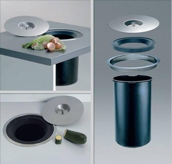 Как сделать мусорку для стола