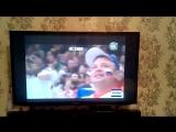 Россия:Дания 1:0 Первый гол! Женя болеет Урааа! Счастливый !!!