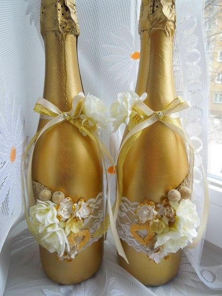 Свадебные аксессуары для свадьбы в золотом цвете!… (3 фото) - картинка