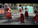 Карамельки . Испанский танец с веерами.