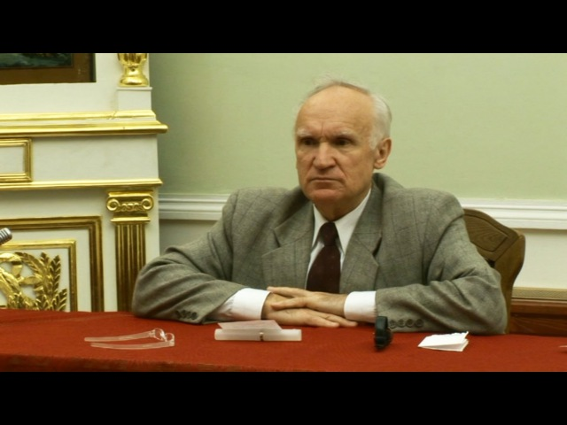Педагогика и воспитание ОПК Воскресная школа г Москва 2005 11 09 Осипов А И