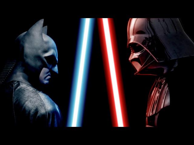 BATMAN vs DARTH VADER ALTERNATE ENDING Super Power Beat Down