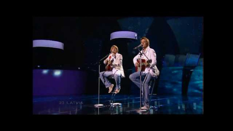 Eurovision 2005 Final 23 Latvia *Walters Kazha* *The War Is Not Over* 16:9 HQ