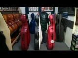 Cello Case Comparison - Eastman K1W, Bam Shamrock & Bam Classic with wheels