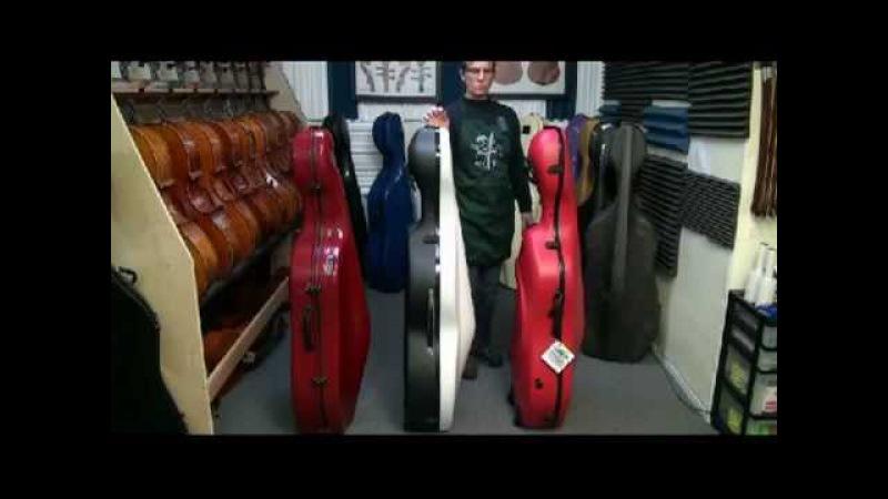 Cello Case Comparison - Eastman K1W, Bam Shamrock Bam Classic with wheels