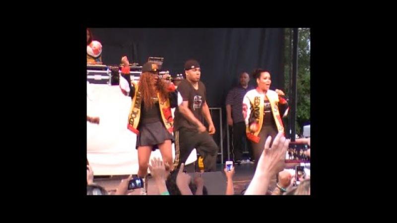 Salt N Pepa Live at Decatur Celebration 2014