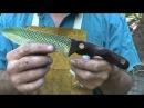 Blacksmithing Knifemaking - Forging A Rasp Chopper Knife From A Farrier's Rasp - Part 1