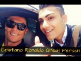 Cristiano Ronaldo ● Great Person ● 2015