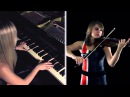 Mass Effect 3 An End Once and For All Violin Piano Cover Taylor Davis Lara de Wit
