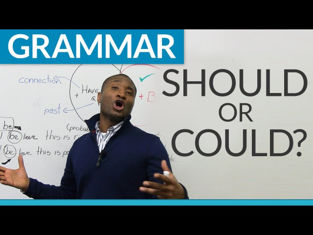 Learn English Grammar Modals could or should