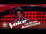 The Voice 2014 Blind Audition - Menlik Zergabachew Santeria
