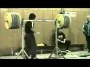 Ivan Ivanov 463 lb Front Squat @ 115 lbs 210kg@52kg