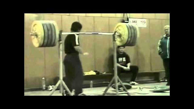 Ivan Ivanov - 463 lb Front Squat @ 115 lbs (210kg@52kg)