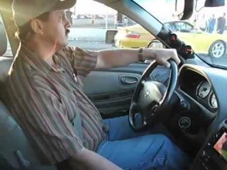 Заряженный Nissan Maxima против Porsche