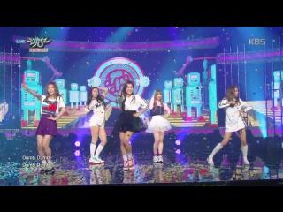 150918 KBS Music Bank | Red Velvet - Dumb dumb