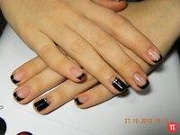 Дизайн ногтей покрытых гелем фото