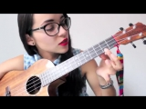 Meghan trainor - All about that bass (ukulele cover-tutorial español)