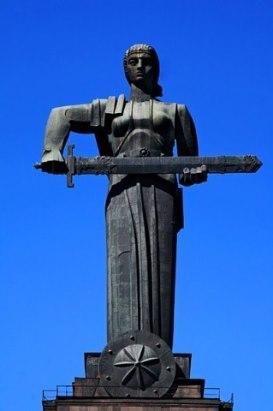 """Самый большой памятник Еревана. """"Мать Армения"""""""