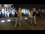 Две пары исполнили страстный танец Kizomba