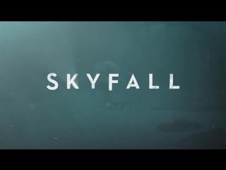 клип ADELE - Skyfall (официальное видео).HD 720