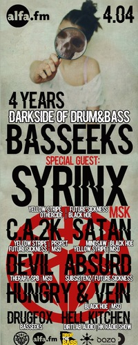 4.04 BASSEEKS DARKSIDE OF DRUM&BASS @ ALFA BAR