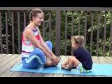 Гимнастика для ребенка от 3х лет Gymnastics for kids