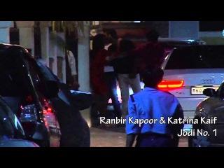 Ranbir Kapoor & Katrina Kaif spotted in the same car II RanKatFC
